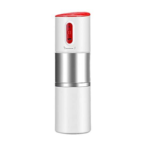 ZR&YW Filterkaffeemaschine, Beweglicher Kaffeemaschine Mit Warmer Und Kalter Extraction USB-Elektrisches Kaffeepulver, Die Maschine Herstellt Reise Im Freien Kaffee Ma