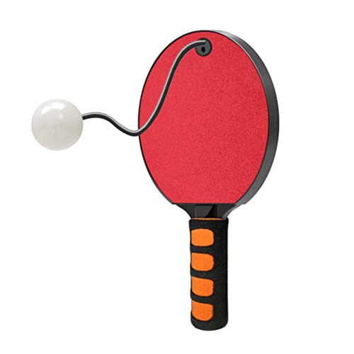 Bounce Back Paddle Ball Kreative Paddle Ball-Spiel-Spielzeug Tischtennis Trainings Toy Brain Game