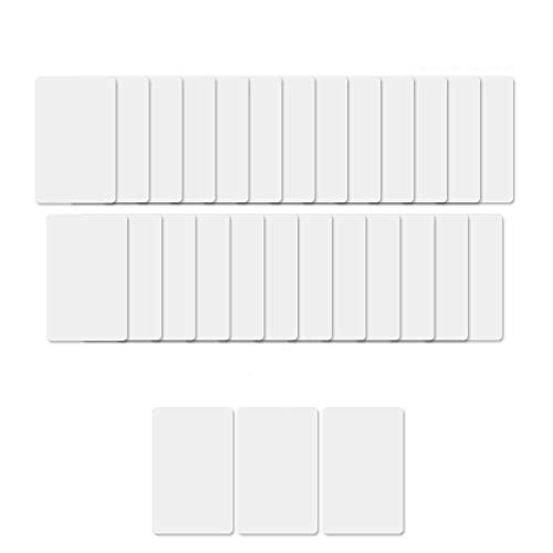 28PCS NFC NTAG213 PVC IC Card 13.56MHz with 180 Bytes Fully programmable - NTAG213 Chip, Works with All Android NFC Smartphones and Devices (25Pieces+3bonus)