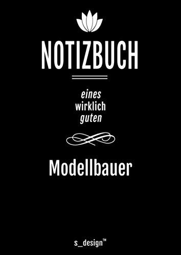 Notizbuch für Modellbauer / Bastler: Originelle Geschenk-Idee [120 Seiten kariertes DIN A4 blanko Papier]