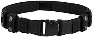 Duty Belt Tactical Combat Police Utility Belt 1.5 inch Strong Load Bearing with Quick Release Buckle