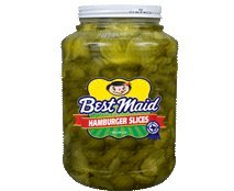 Best Maid Hamburger Slices 1 Gal