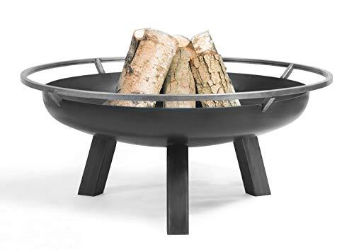 Feuerschale Porto Ø 60cm Feuerstelle für den Garten aus Stahl Feuerkorb als Wärmequelle oder Grill CookKing