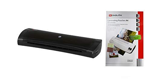 monolith office solutions OL350-40 - Plastificatrice formato DIN A3, 40 fogli A4 orizzontali inclusi