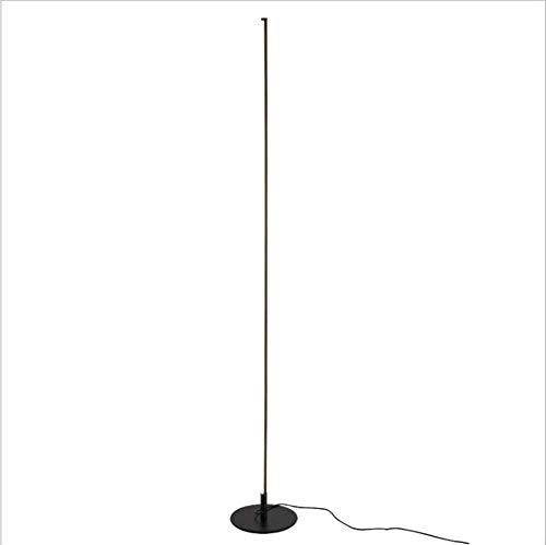 Lámpara de piso uplighter Lámpara De Pie LED Plata De Oro Black 3 Color Temperatura Lámpara De Pie Barniz De Hornear Lámpara De Piso De Hierro Forjado En La Habitación De La Esquina Habitación Lámpara