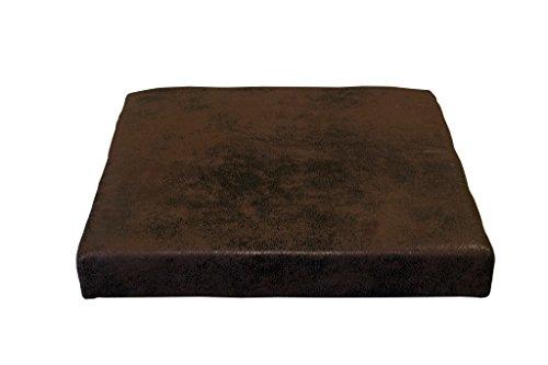 Avanti Trendstore -Sitzkissen für Bänke aus Kunstleder, ca. 40x5x36/38cm
