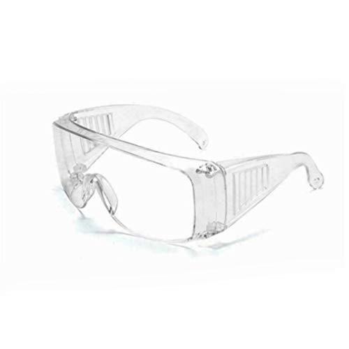 HehiFRlark - Gafas de seguridad ocular, antivaho, transparentes