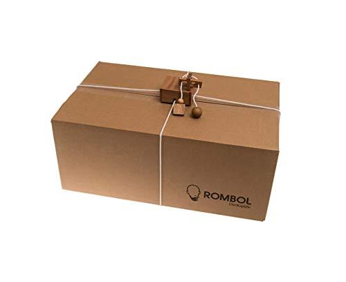 ROMBOL Geschenkesafe – Kreatives Geduldsspiel als Geschenkverpackung für Erwachsene und Kinder, Modell:1 - 3