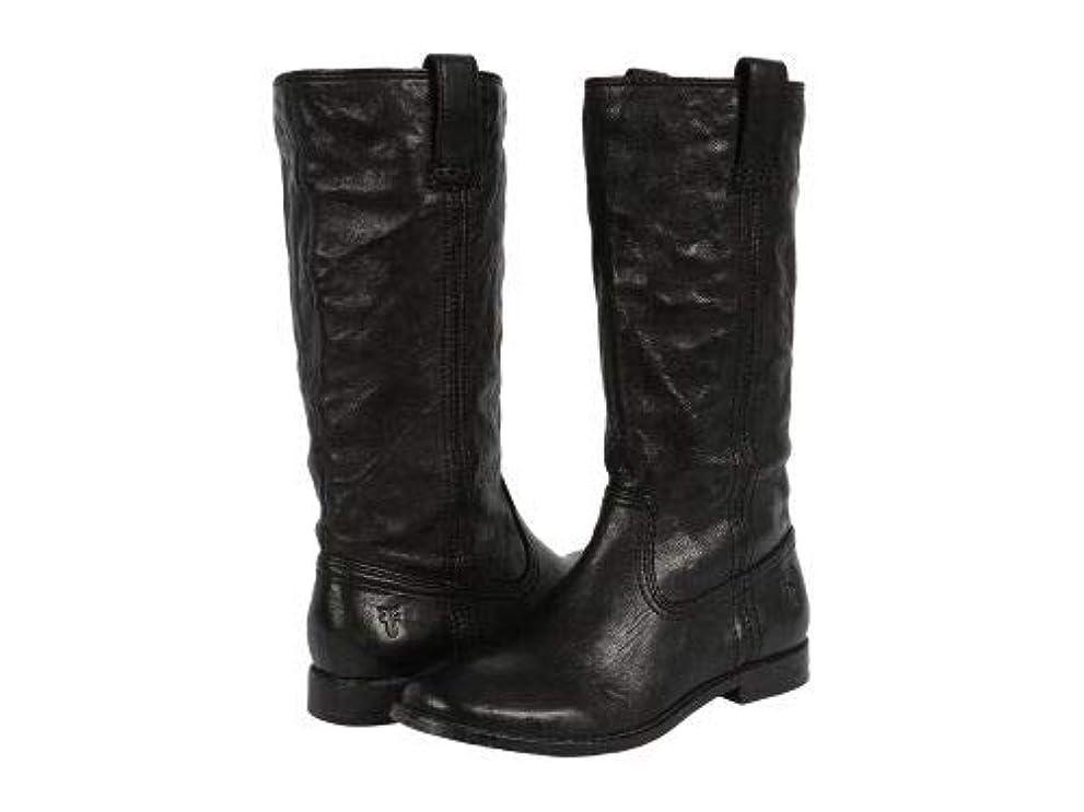 わがまま周りビジネスFrye(フライ) レディース 女性用 シューズ 靴 ブーツ ミッドカフ Anna Mid Pull On - Black Antique Soft Vintage [並行輸入品]