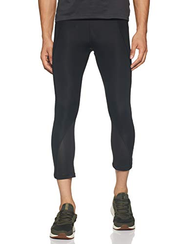 adidas Alphaskin Sport Tights Mallas 3/4, Hombre, Negro (Black), XS ⭐