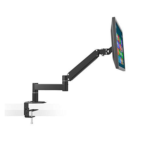 YING-pinghu Monitor Sket Riser Desktop Desktop 13'-24' LCD LED Pared TV Soporte De TV Y Monitor Escalable Soporte De Soporte De Soporte 75/100 Cargar 5.5kgs WallOut 630mm Monitor de Soportes de Armas