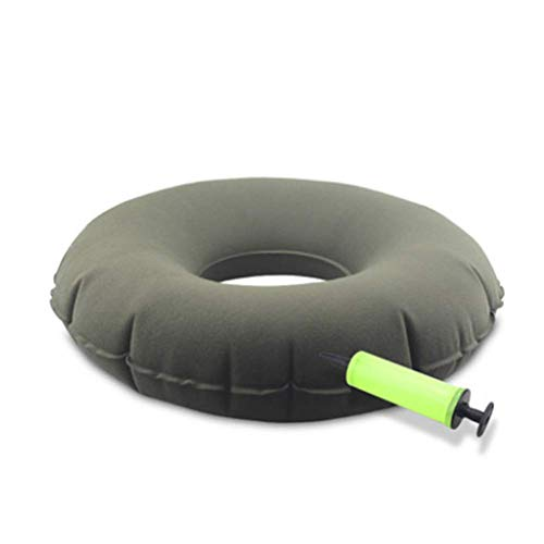ZCPDP Runde aufblasbare Anti-Dekubitus-Sitzunterlegscheibe Schmerzlinderung Kühlung Atmungsaktive Old Student Ice Pad Büro Rollstuhl Cool Pad Butt Pads