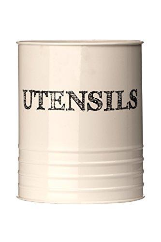 Premier Housewares Pot à ustensiles Crème Croquis