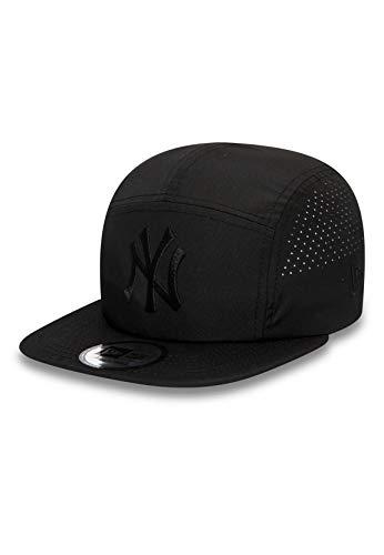 New Era Gorra 5 Paneles MLB Light Weight Camper NY Yankees Negro - Ajustable
