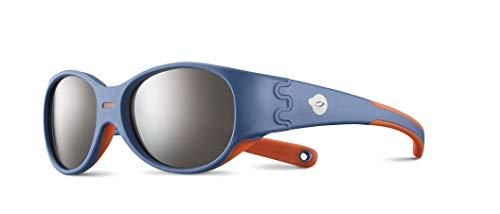 Julbo DOMINO Lunettes de soleil Garçon Bleu/Orange FR : XXS (Taille Fabricant : 3-5 ANS)