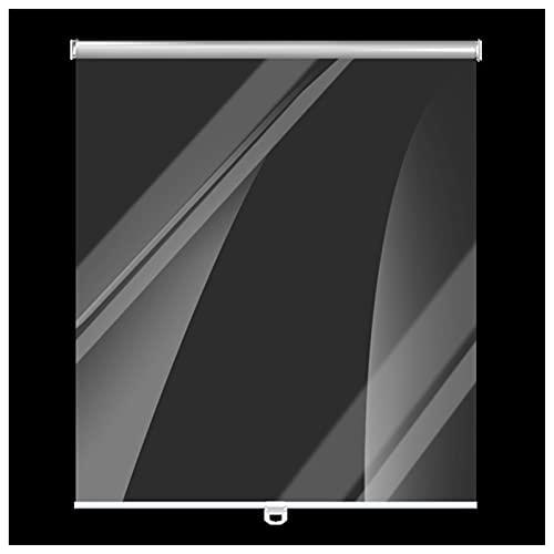 Persianas Enrollables Freezers Showcases Shade Shade Ciego - Plástico Impermeable A Prueba De Polvo Claro, Pantalla De Roll-up para Tortas De Supermercado/Taller De Frutas (Size : W75cm×H150cm)