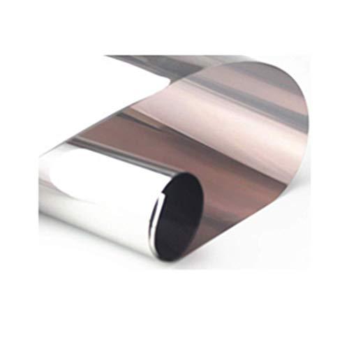 ZXL raamfolie zonwerende folie one-Way doorzichtig glas balkon schaduw sticker venster huis anti-spion papier uv blokkering rate: 99% 75 * 150 cm (grootte: 110 * 100 cm)