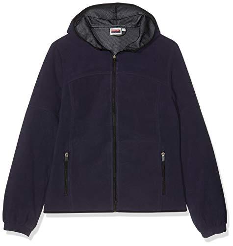 Marinepool Damen Jacke Luzern Fleece Jacket Women, Navy, M, 5000442-500-180