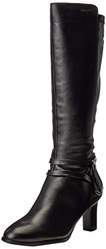 Tamaris Damen 1-1-25579-25 Kniehohe Stiefel, schwarz, 39 EU