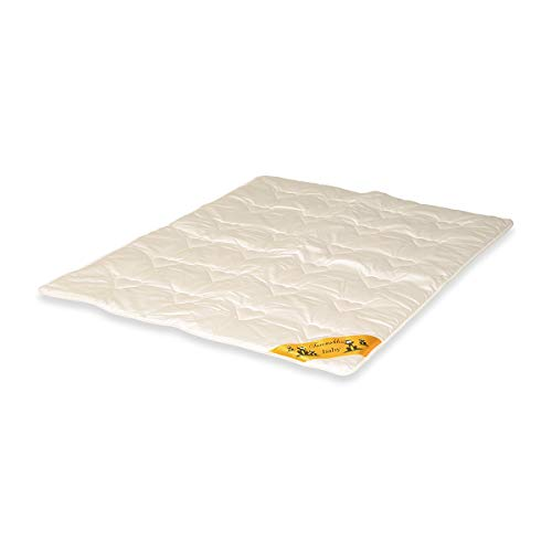 Traumschloss Baby Royal Kinder Bettdecke Champagner 100 x 135 cm