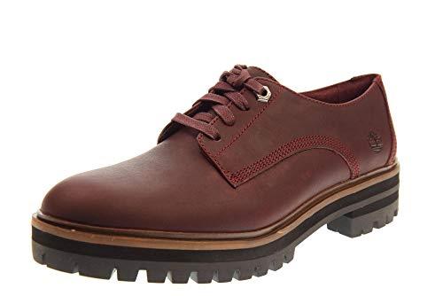 Timberland London Square Oxford, Zapato para Mujer 39 5 Granate