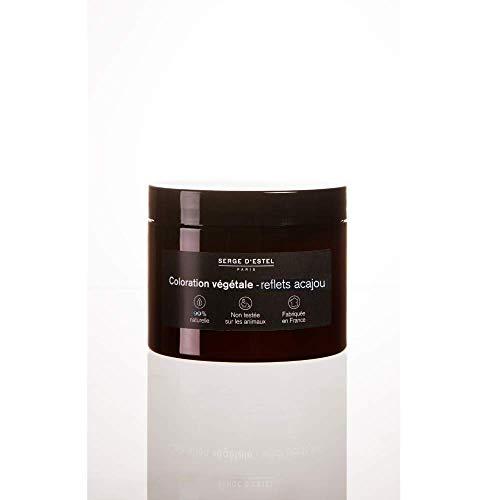 Henné Rouge Ardent 250g. Coloration Végétale Reflets Acajou.