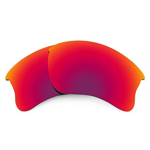 Revant Verres de Rechange Compatibles avec Oakley Flak Jacket XLJ, Non Polarisés, Soleil de Minuit MirrorShield