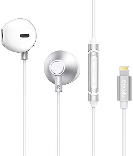 In Ear Kopfhörer für iPhone, Ebeylo HiFi Stereo iPhone Kopfhörer mit Mikrofon und Lautstärkeregler für iPhone 11 Pro/iPhone 11, iPhone X/XS Max/XR, iPhone 7/7 Plus, iPhone 8/8 Plus, iPad, iPod