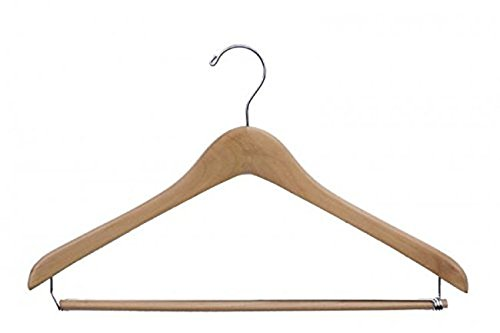 NAHANCO 40% OFF Cheap Sale 7117CH Concave Wood Suit Finish and Hanger Chro Now free shipping Natural