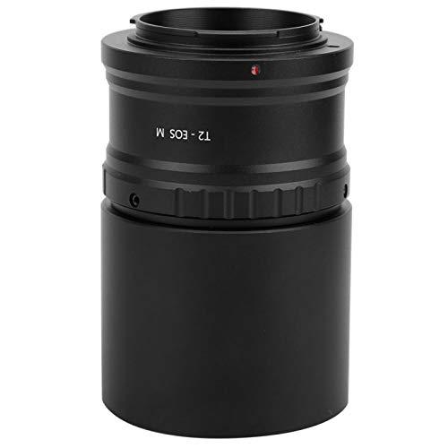 DAUERHAFT Accesorio de telescopio M48-2 Telescopio T Ring M42 × 0.75 2 Pulgadas para Sony para para para Mirrorless Camera(EOS M)