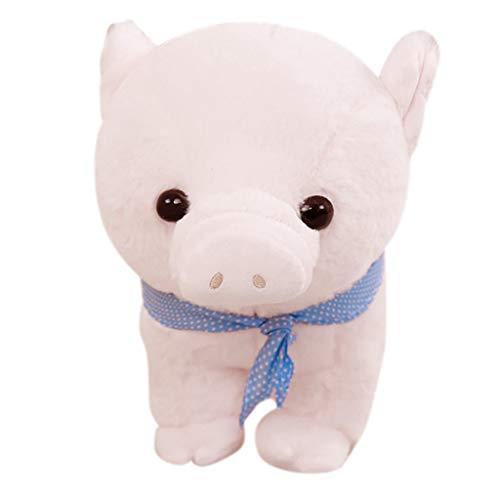 Hunpta @ 30 cm Niedlich Schweinchen Weiches Plüschtiere Plüsch Spielzeug Kuscheltier Puppe Home Deko Kissen Plüschtier Stofftier Geburtstag Weihnachten Geschenk für Kinder Junge Mädchen