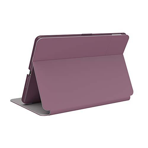 Speck Products BalanceFolio Funda y Soporte para iPad de 10,2 Pulgadas (2019), Color Morado, Morado y Rosa crepé, Modelo: 133535-7265