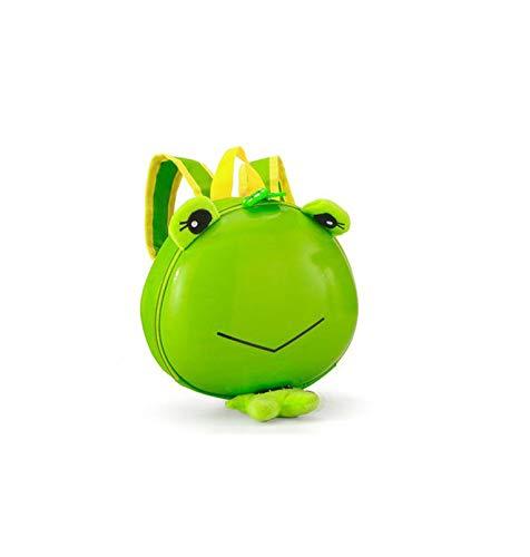 Kinder Tier Rucksack Schultern - Kleiner Grüner Frosch 24 * 6 * 22