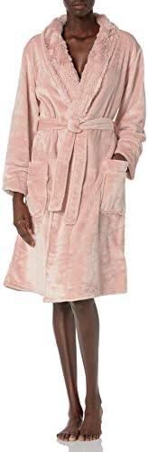 PJ Salvage Women s Loungewear Luxe Plush Robe Blush XL product image