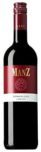 Weingut Manz Dornfelder Rotwein lieblich (0,75 l) Jahrgang 2017