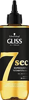 Schwarzkopf Gliss, Trattamento 7 Secondi Olio Nutriente per Capelli Secchi e Spenti, con Acido Oleico e Olio di Marula, Ri...