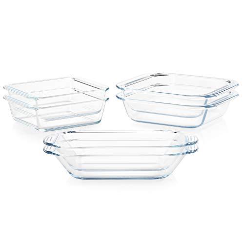 Pyrex Littles Toaster Oven Cookware, 6-Piece