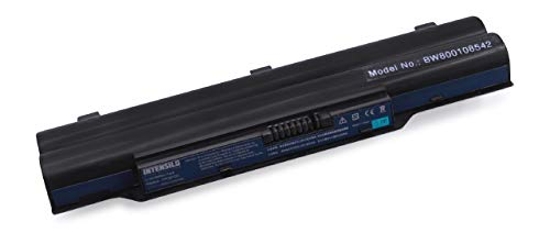 INTENSILO Akku kompatibel mit Fujitsu-Siemens Lifebook A512, A530, A531, A532, AH512 Notebook (6600mAh, 11,1V, Li-Ion)