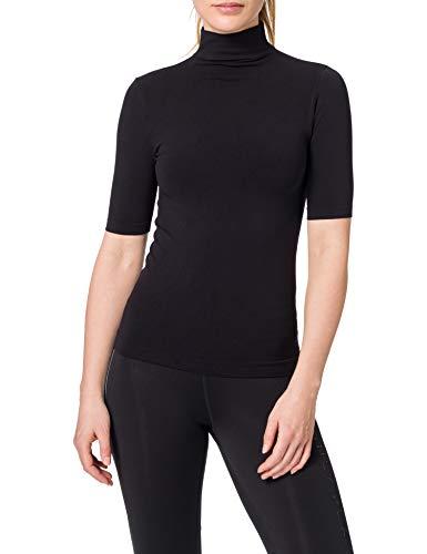 Luigi di Focenza Damen 1681 T-Shirt, Schwarz (schwarz 001), 38 (Herstellergröße: S/M)