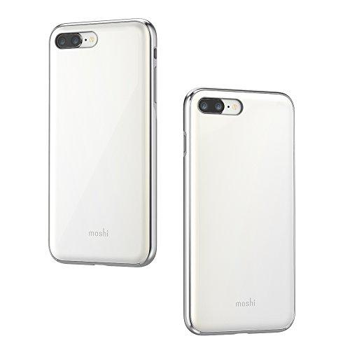 Moshi iGlaze 99MO090101 - Carcasa para iPhone 8 Plus/7 Plus, Color Blanco Perla