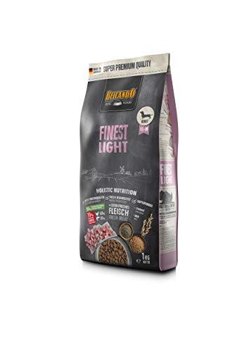 Belcando Finest Light [1 kg] Hundefutter | Trockenfutter für kleine & mittlere übergewichtige Hunde | Alleinfuttermittel für Hunde ab 1 Jahr