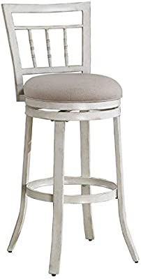 Groovy Amazon Com 24 Elegant Metal Counter Stool With Faux Ibusinesslaw Wood Chair Design Ideas Ibusinesslaworg