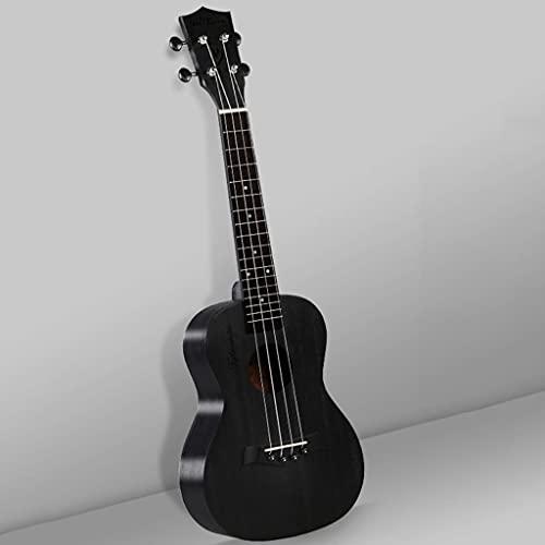 XYF Schwarze Sopran-Ukulele Ukulelen Für Erwachsene Anfänger Mit Tasche, Snowboard-Ukulele Für Studenten, Erwachsene, 23 Zoll Kinder-Einsteigergitarre (Color : D, Size : 23 INCHES)