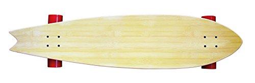 Streetsurfing Fishtail 42 Longboard Flash Noir