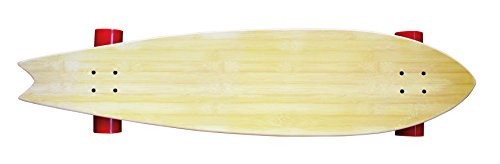 Street Surfing Longboard Fishtail 42, Design: Flash Black, 500223