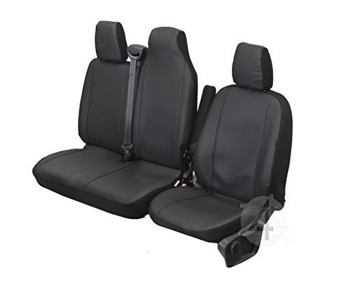 Passgenaue Kunstleder Sitzbezüge VIP ideal Angepasst 1+2 (3-Sitzer) Fahrzeugspezifisch Kunstleder | 4D-Z4L-DV-VIP-OR3M-SC-102