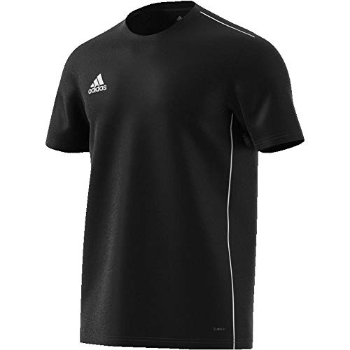 adidas Herren CORE18 JSY T-Shirt, Black/White, L