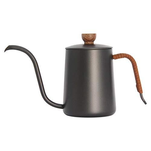 #N/a Tetera para café con cuello de cisne, tetera de mano, ajustable, resistente al calor, antiquemaduras, cafetera, tetera, capacidad de 350/600ml - 350ml
