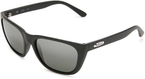 Revo Herren Sonnenbrille Grand Sixties, matte black/graphite, RE4052-01,