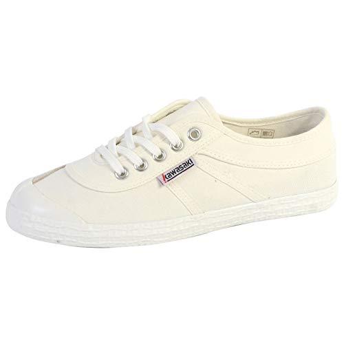 Kawasaki Unisex Orginal Canvas Shoe,Blanc,42 EU